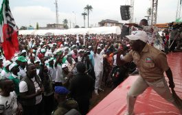 [PHOTOS] APC gubernatorial campaign at Egor Local Government Area, on Wednesday