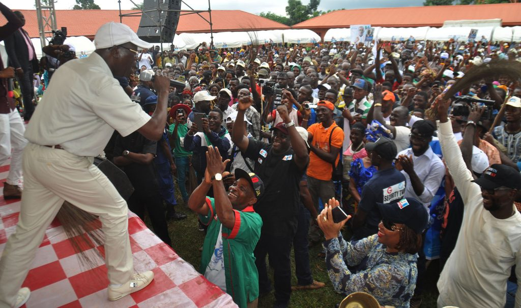 [PHOTOS] APC gubernatorial campaign flag-off at Abudu, Orhiomwon Local Government Area