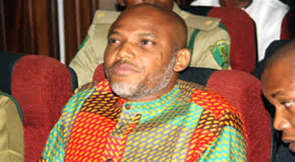 Biafra: Judge disqualifies self from Kanu's case