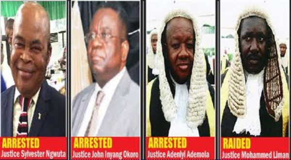 Forum threatens to occupy courts presided by 7 judges accused of corruption