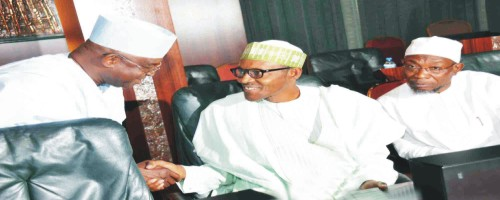 Buhari, IBB, Gowon, Shagari attend Council of State Meeting -Obasanjo absent